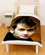 David Tennant Doctor Who Fleece Blanket / Fleece Throw