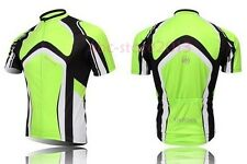 New Cycling Bike Short Sleeve Top Shirt Clothing Bicycle Sportwear Jersey S-4XL