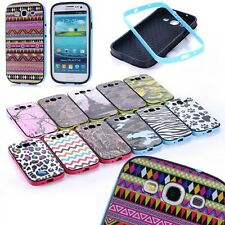 Shockproof Dirt Proof Combo HYBRID 2 in1 CASE COVER FOR SAMSUNG GALAXY S3 i9300