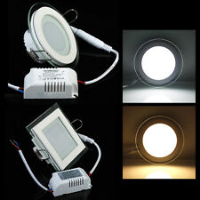 9W/15W/18W CREE Dimmable LED Glasses Recessed Ceiling Panel Down Light Bulb Lamp