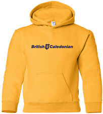 British Caledonian Retro European Airline Logo HOODY