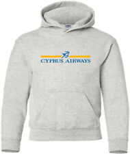 Cyprus Airways Vintage Cypriot Airline Logo HOODY