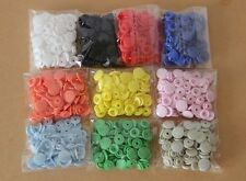 Lot 50-500Sets KAM T5 Size 20 Resin Snaps Buttons For Baby Clothes Diaper Craft