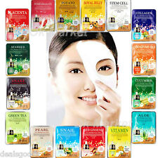 Facial Mask Sheet Pack Moisture Nutrition Essence Face Skin Care Korean 3 pcs