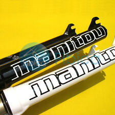 New 2014 Manitou R7 R-SEVEN PRO MTB Remote MILO Lockout XC Fork White Black