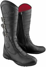 Speed and Strength MotoLisa Womens Motorcycle Riding Boot Black