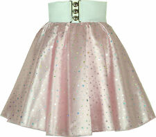 Rock Roll Sequin Disco Dance School Skirt Child 1-17 years Grease Jive Polka Dot
