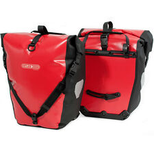 Ortlieb Back Roller Classic 40 Litre Bike Panniers Red Bags One Size