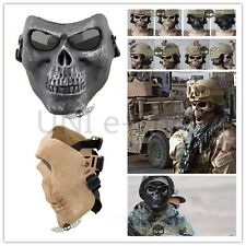 New Skull Outdoor Airsoft Hunting War Game Costume Scary Full Face Protect Mask
