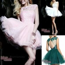 New Lace Short Mini Cocktail Party Girl's Homecoming Dresses Prom Party Gowns