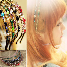 Crystal Headband Hairband Daily Party Hair Accessories for Women Girls