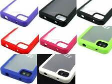 For Blackberry Z10 Color Softgrip Clear Hybrid TPU Soft Cover Case Accessory
