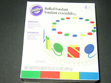 Wilton Rolled Fondant Multi-Pack- Choose Color!! --Free Shipping!!!