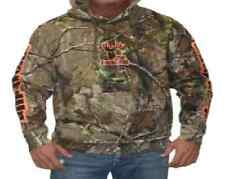BUCKED UP Pullover Hoodie - Realtree APG Camo with Orange Logo 306898