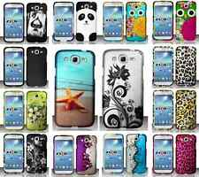 For Samsung Galaxy Mega 5.8 Phone Cover Multi Designs Hard Case Protector