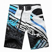 Men's Quicksilver Board Shorts Doodle Graffiti Surf Trunks Beach Swimwear inco