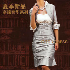 Free jacket mother of the bride/groom dress women formal occasion outfit/suit