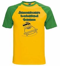 JAMAICAN BOBSLED TEAM T-SHIRT - Jamaica Reggae Funny Fancy Dress - Size S to XXL