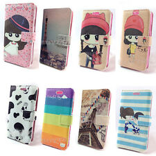 New PU Leather Wallet Card Phone Flip Case Cover for Samsung Galaxy S3 I9300#LS