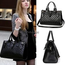 Hot Fashion Lady Women  PU Leather Messenger Handbag Shoulder Bag Totes Purse