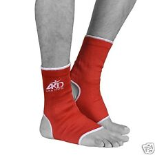 ARD Elasticated Ankle foot Brace leg support pain injury relief Leg & Foot RED