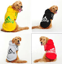New Pet Puppy Dog Coat Clothes Hoodie Sweater Costumes Size 3XL-9XL 4Colors C112