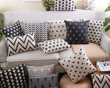 "18"" Saqure Morden Pillow Case Home Decor Room Car Sofa Cushion Cover 13 Choices"