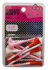 Hello Kitty Rubber Tip Golf Tees (15 pack) - Extreme Durability Through Design