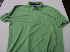NWOT Tommy Hilfiger pocket  polo, green, men's XL , 100% polyester