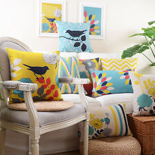 """18"""" Pillow Cases Home Decorative Sofa Bed Cushion Cover 15 Patterns"""