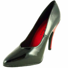 ELLIE Shoes Sexy Red High Heel Classic Patent Womens Pumps 511-BRANDE Black