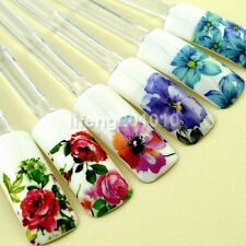 Beauty Flower Design Water Transfer Nail Art Sticker Decals Decoration tools NEW