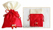 Korean Traditional Silk Lucky Fortune Bag Cosmetics Makeup Gift Bags Middle