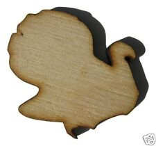Thanksgiving Turkey Unfinished Wood Shapes Craft Supplies Laser Cut Outs DIY 147