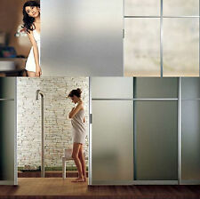 45x300cm 3 meter Frosted Glass Window Sticky Film Privacy Bedroom Bathroom N0-33