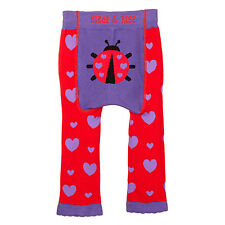New Baby Leggings/footless tights from Blade and Rose - Ladybird design- red