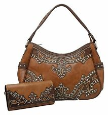 Montana West Concealed Carry Handgun Purse OR Wallet UPICK Gun Holster Brown NEW