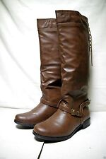 XOXO Womens Marni Riding Boots Brown Size 8.5 - new