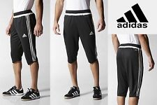 Adidas Tiro 3/4 Men's TRAINING SOCCER PANTS Climacool Skinny fit Sweats