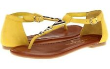 NEW Women's Jessica Simpson  RANGLE DAFFODIL Thong Sandals Flats Shoes 8.5 9.5