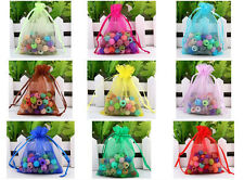 Luxury Organza Gift Bag Jewelry Packaging Pouch Wedding Favor Gift Bags Any Colo