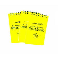 Yellow All Weather Notebook Waterproof Writing Paper in Rain 3x5 inches