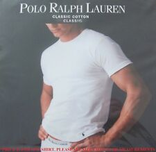 Polo Ralph Lauren Men's Shirt Crew Neck New White S L XL XXL Cotton 1 Undershir