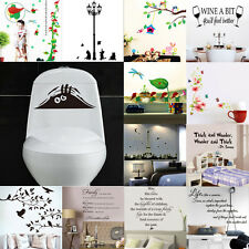 HOT SALE! DIY Art Removable Vinyl Quote Home Room Wall Sticker Decal Mural Décor