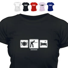 Snooker Player Gift T Shirt Snooker Daily Cycle