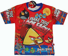 ANGRY BIRDS I MAKE THIS LOOK EASY  T-Shirt  Boys Girls Kids Jersey  Top  15C