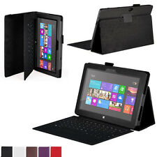 1pcs Fad Stand Leather Case Cover For Microsoft Surface 10.6 Windows 8 RT Tablet