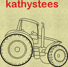 Tractors 03 - Machine Embroidery Designs Set of 10 On CD
