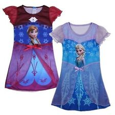 NEW Disney Kids Girls Frozen Princess Anna/ Elsa Fancy Dress Costume 3yrs-8Yrs