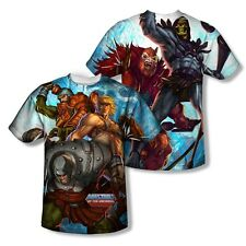 MASTER OF THE UNIVERSE HEROES AND VILLAINS SUBLIMATION SHIRT S M L XL 2X 3X